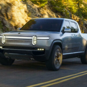 Rivian pick-up tank turn