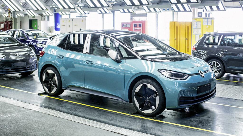 Volkswagen ID.3 mogelijk probleem software