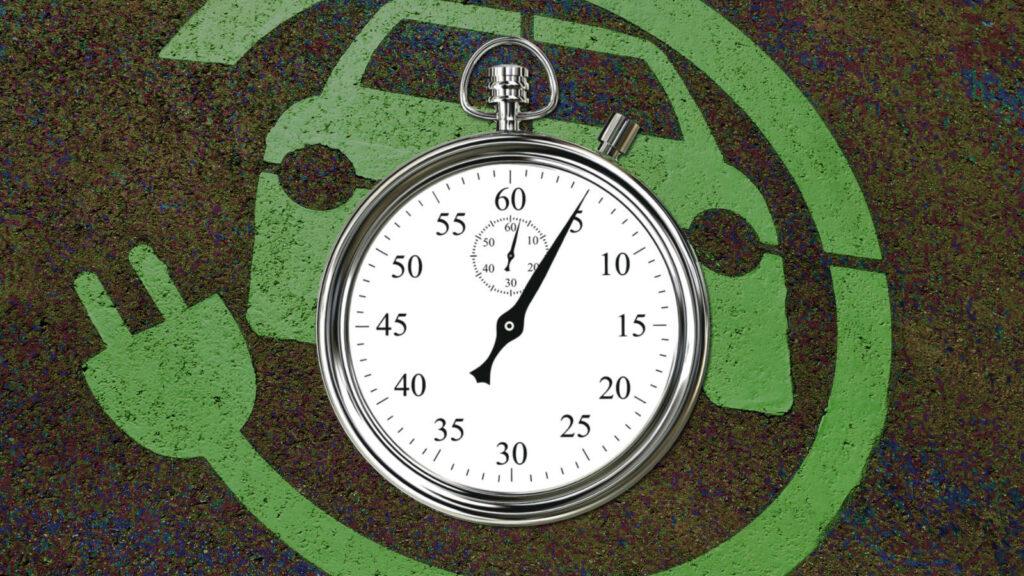 opladen elektrische auto minuten Enevate