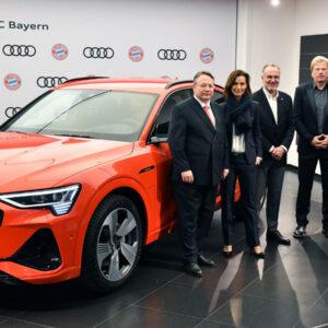 FC Bayern Audi e-tron 55 Quattro