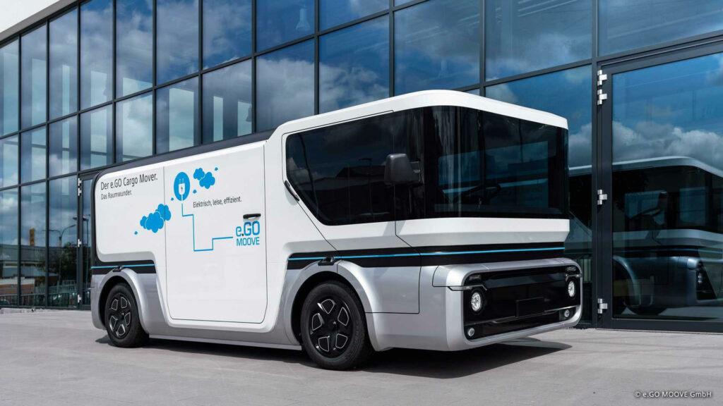 e.GO lanceert nieuwe Cargo Mover