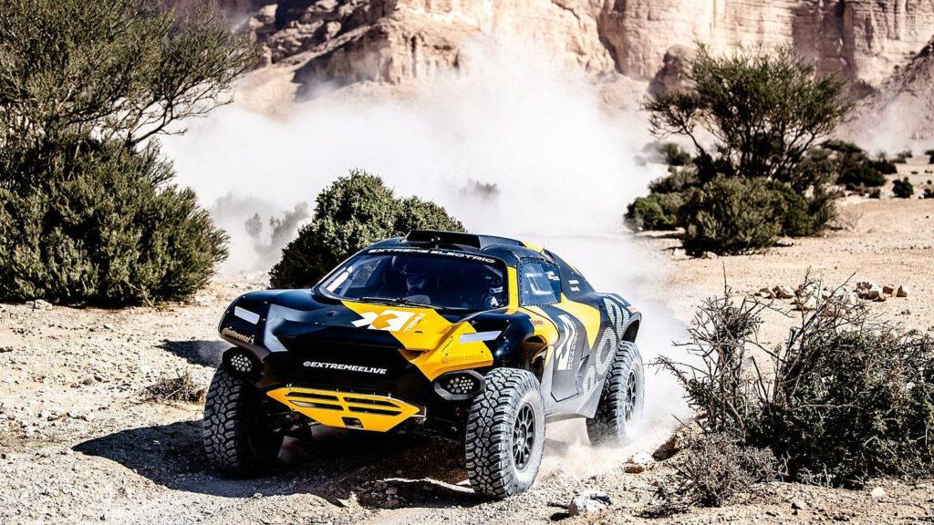 Extreme E rallyauto