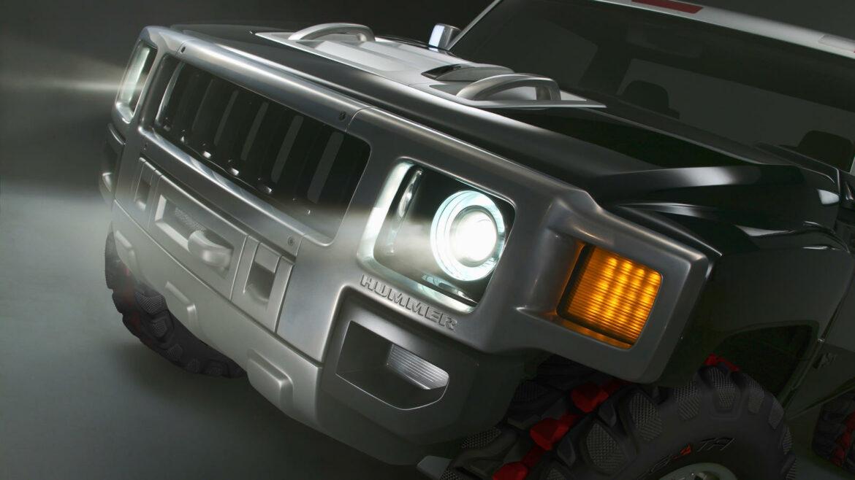 elektrische Hummer pick-up