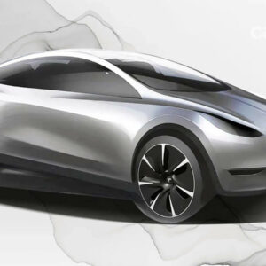 Kleinere Tesla