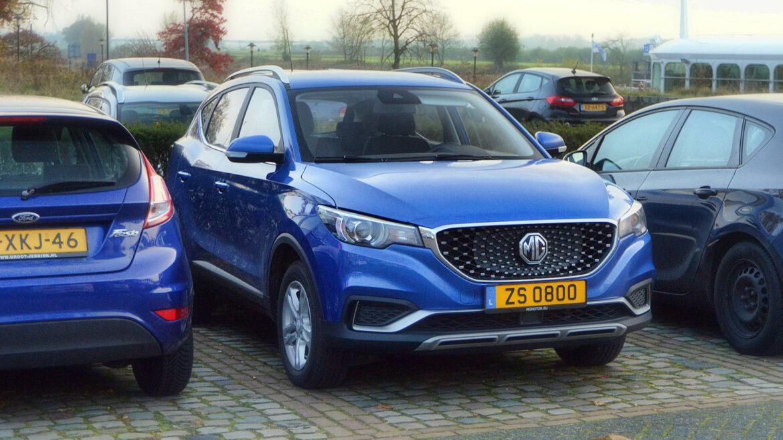 Elektrische MG ZS EV van SAIC Motor Europe