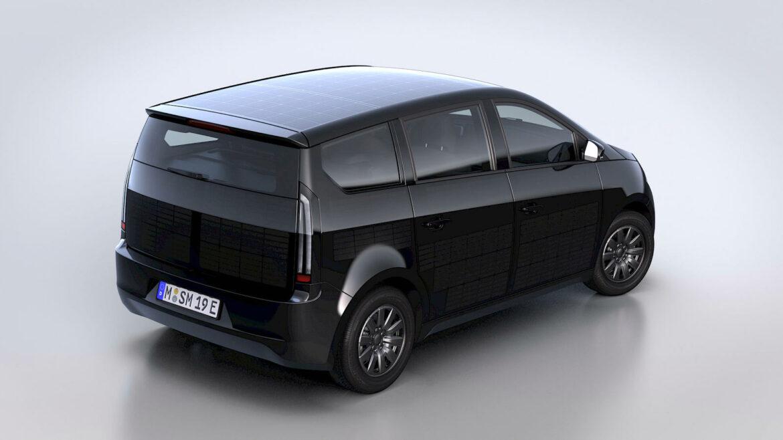 Sono Motors Sion zonnecellen elektrische auto