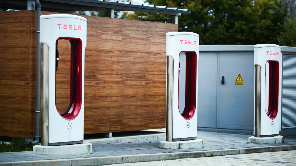 Tesla Supercharger-stations in Nederland