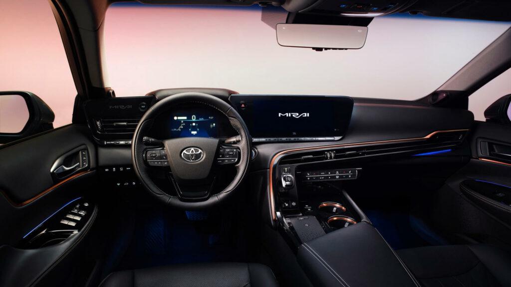 Tweede generatie Toyota Mirai waterstofauto