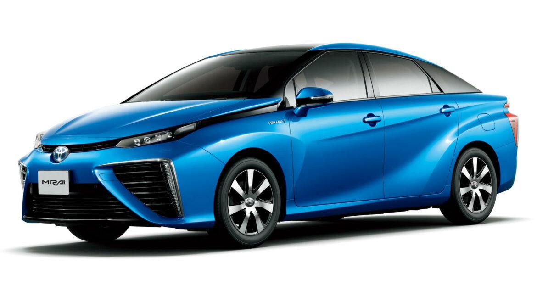 Toyota Mirai FCEV elektrisch waterstof