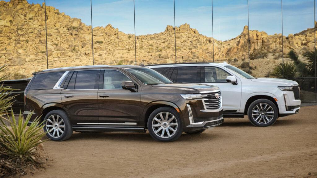 Ook Cadillac Escalade wordt elektrisch
