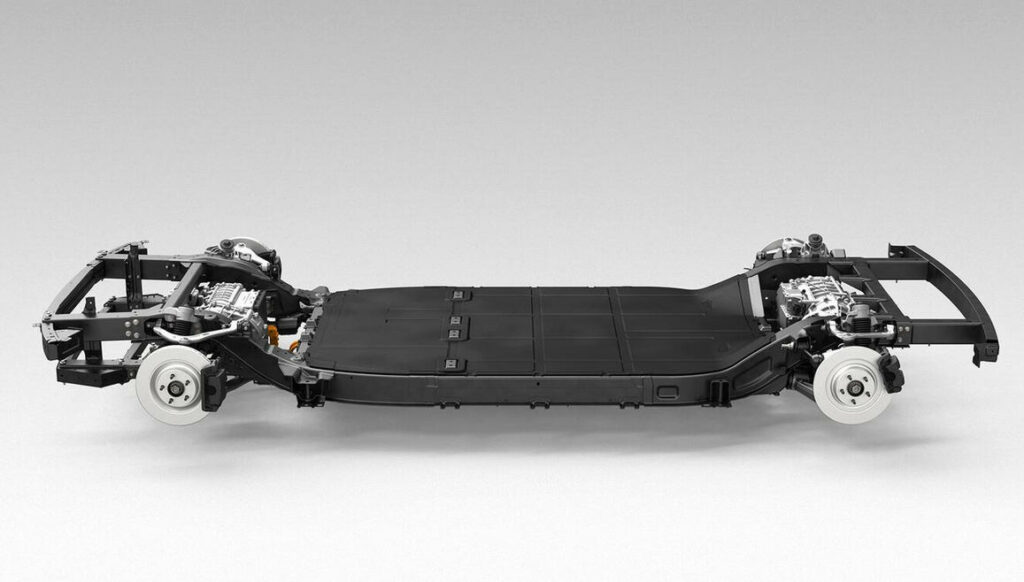 Hyundai samenwerken Canoo skateboardchassis