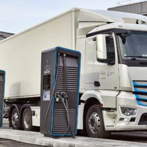 Daimler eTruck Charging Initiative wereldwijde laadinfrastructuur