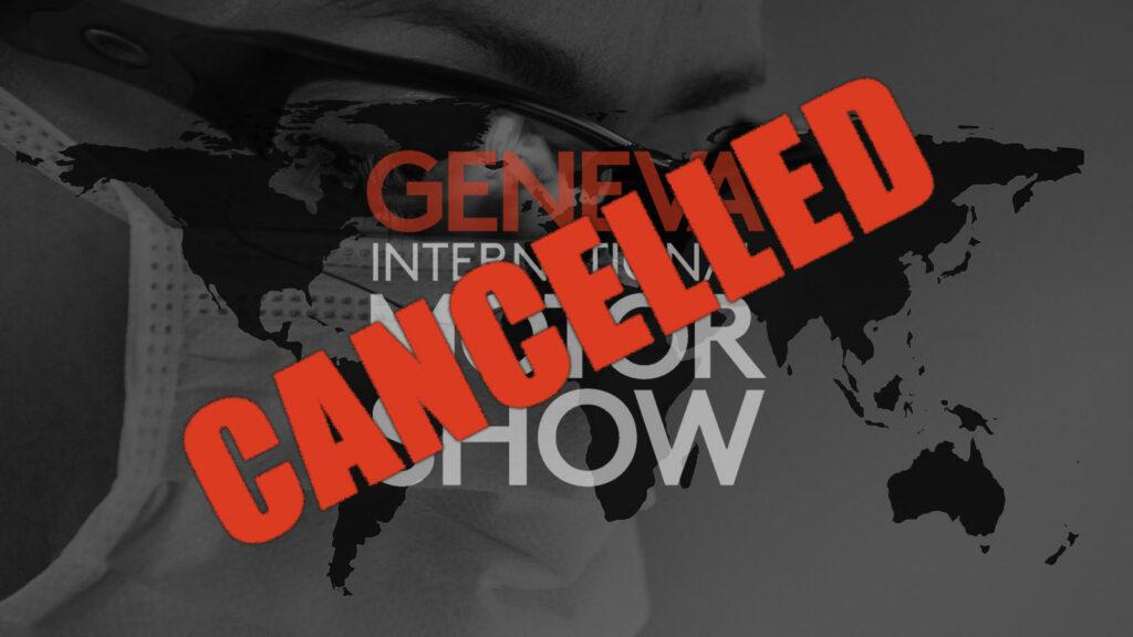 Internationale Autosalon van Genève 2020 geannuleerd coronavirus
