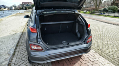 De bagageruimte van de Hyundai Kona Electric