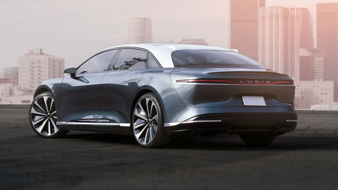 Lucid Motors Air efficiency