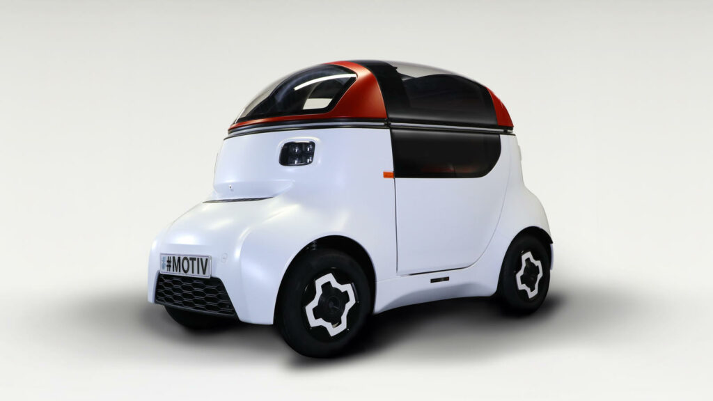 Gordon Murray Design Motiv stadsauto