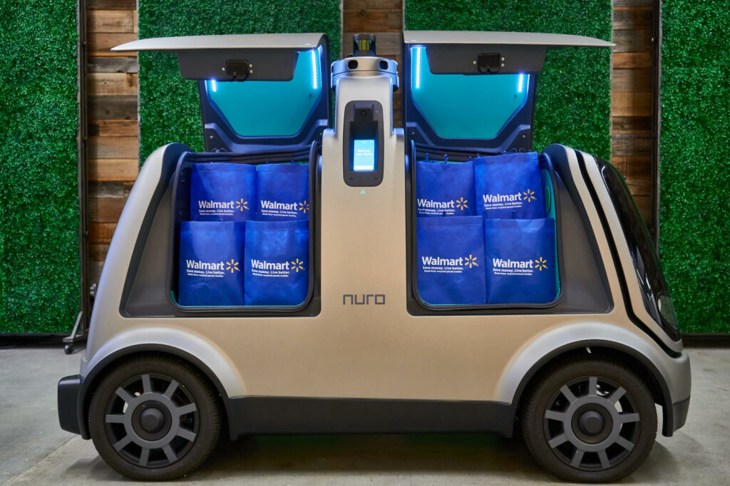 Nuro autonome bezorgauto