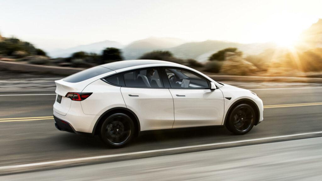 Actieradius Tesla Model Y