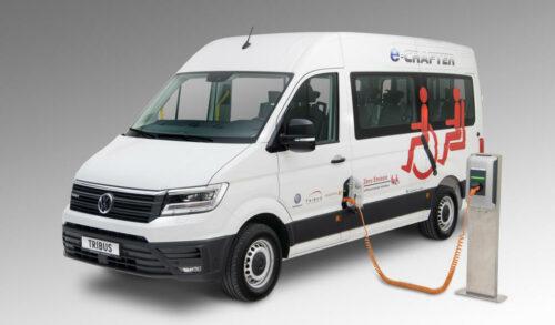 Tribus VW eCrafter elektrische minibus