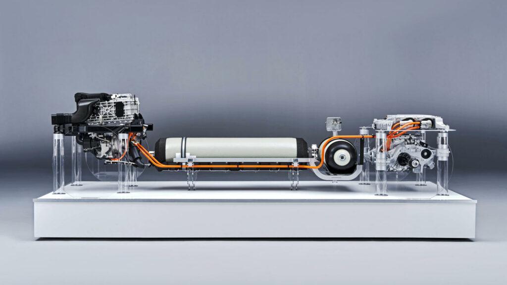 BMW i Next Hydrogen brandstofceltechnologie