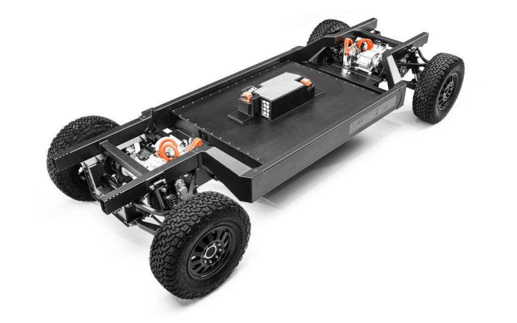 Bollinger Motors chassis B1 B2 truck