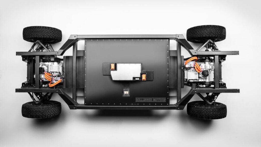 Bollinger Motors onthult gepatenteerd chassis