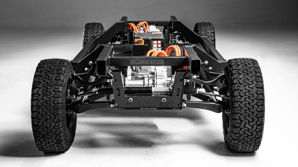 Bollinger chassis
