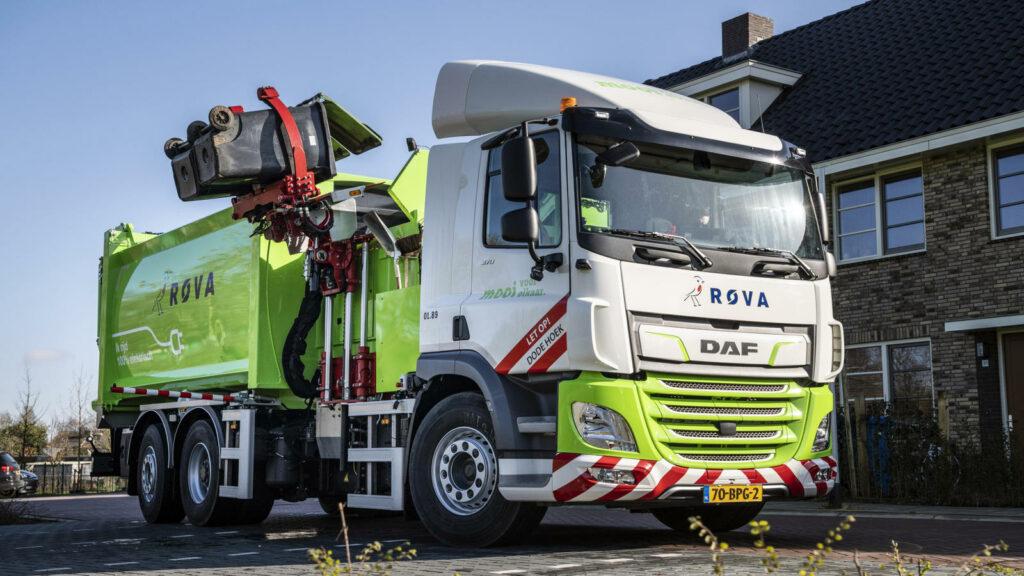 DAF Trucks elektrische vuilniswagen