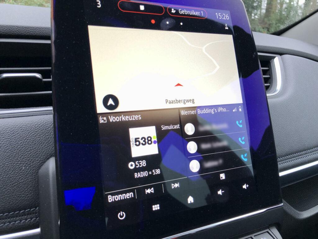 Renault Zoe multimedia