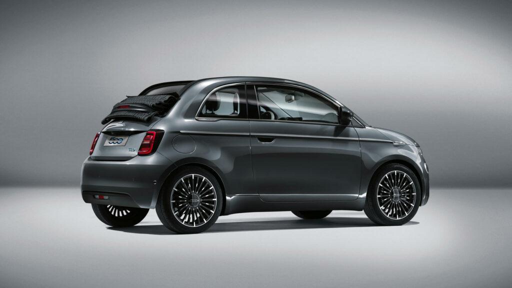 Nieuwe elektrische Fiat 500e
