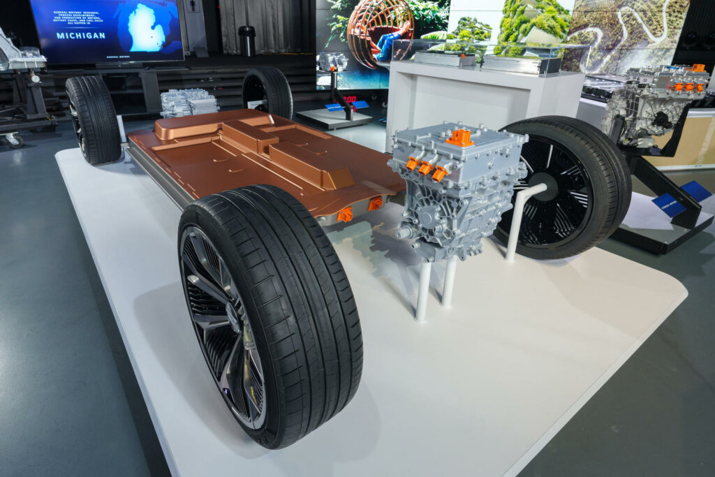GM Ultium-accu EV-platform