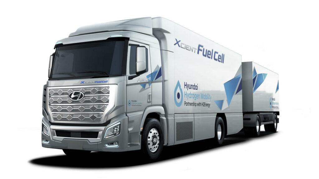 Hyundai waterstoftruck
