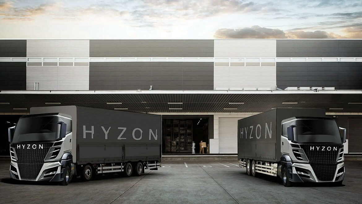 Hyzon Motors waterstoftrucks