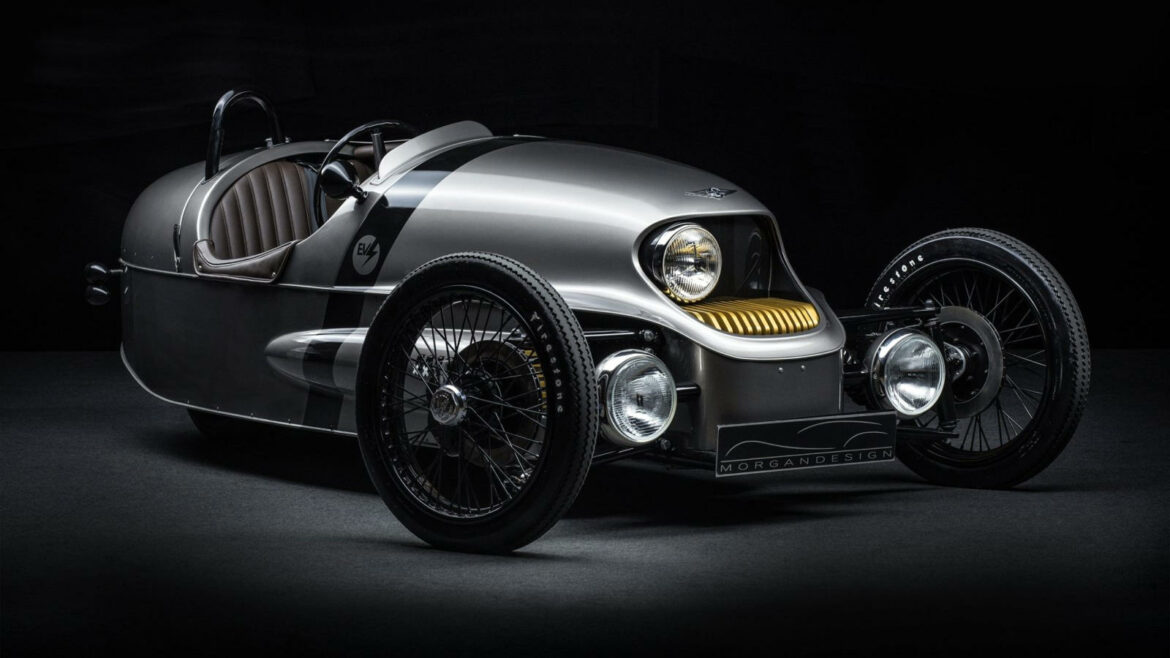 Morgan elektrificatie EV3