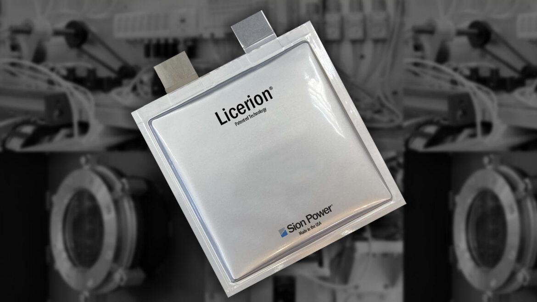 Sion Power verbeterde lithium-ioncellen