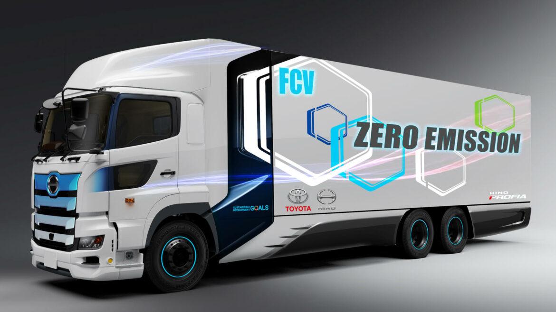 Toyota en Hino gaan samen waterstoftruck ontwikkelen