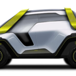 Tracy elektrische conceptcar off-road