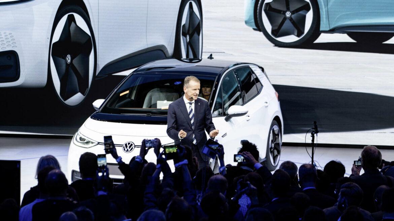 kleine elektrische Volkswagen