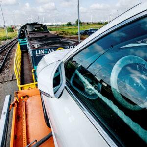 volvo vervoer trein CO2