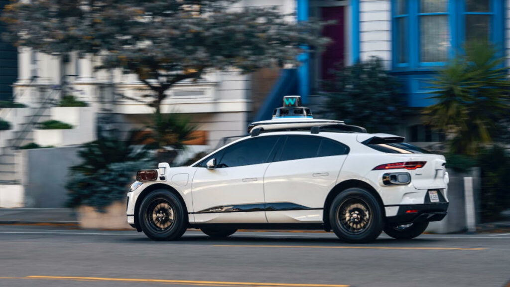 Waymo Driver test iPace