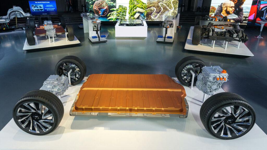 Honda BEV's GM Ultium technologie accu's platform