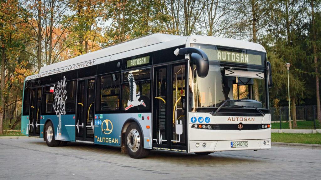 poolse elektrische bus verwisselbare accu