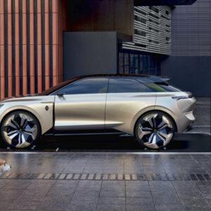 Renault compacte elektrische SUV