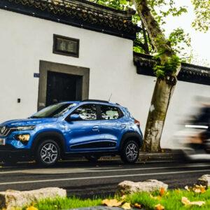 renault china lichte bedrijfswagens elektrische auto's K-ZE