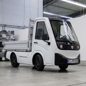 Tropos Motors elektrische bestelwagens Mosolf Duitsland