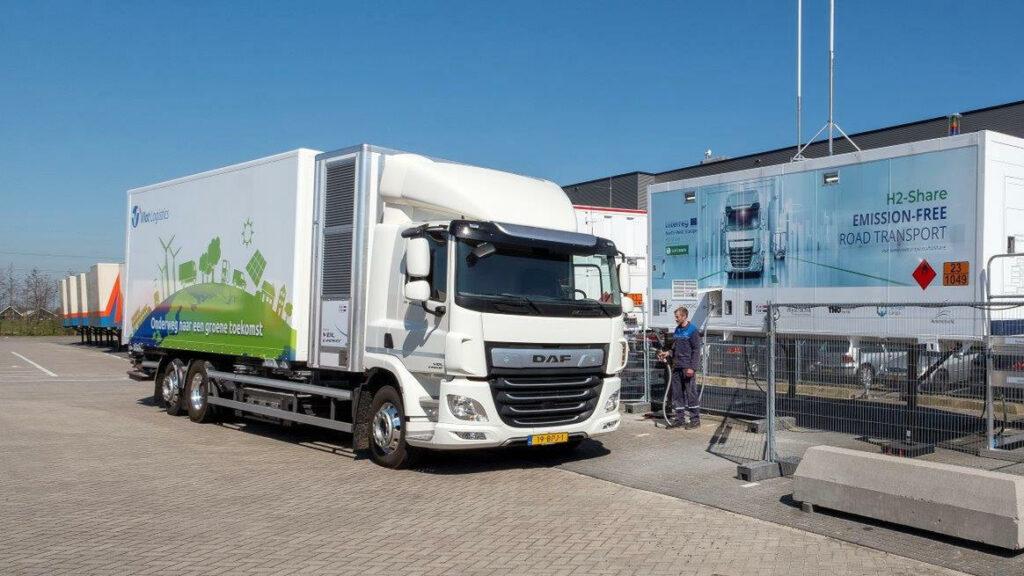 Breytner test VDL waterstoftruck