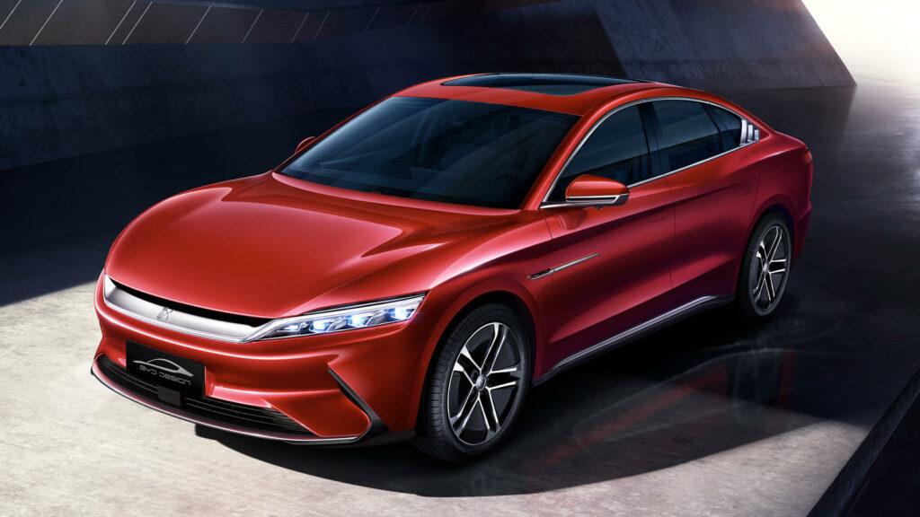 BYD Han concurrent Tesla goedkoper
