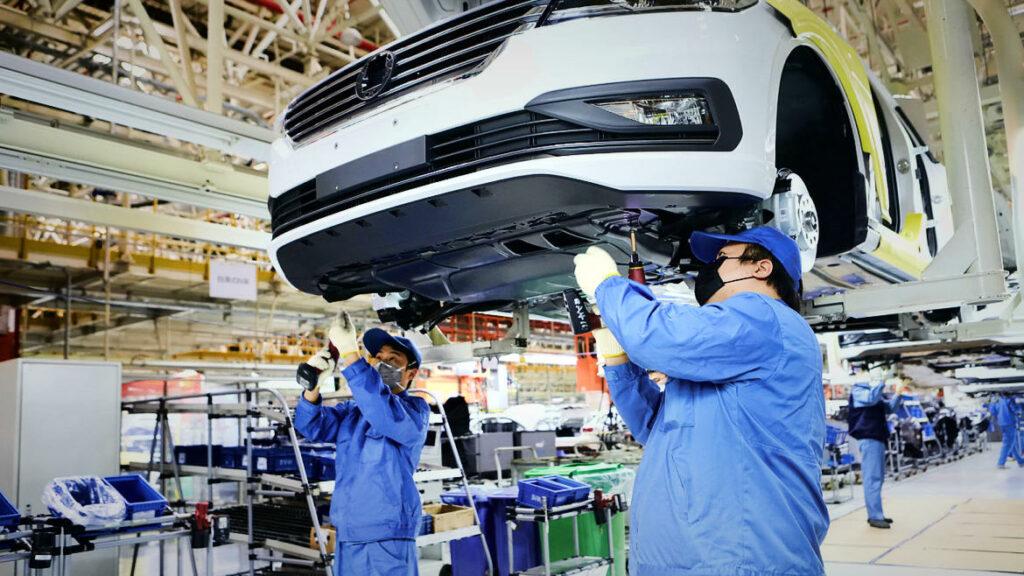 Volkswagen productie corona crisis pandemie