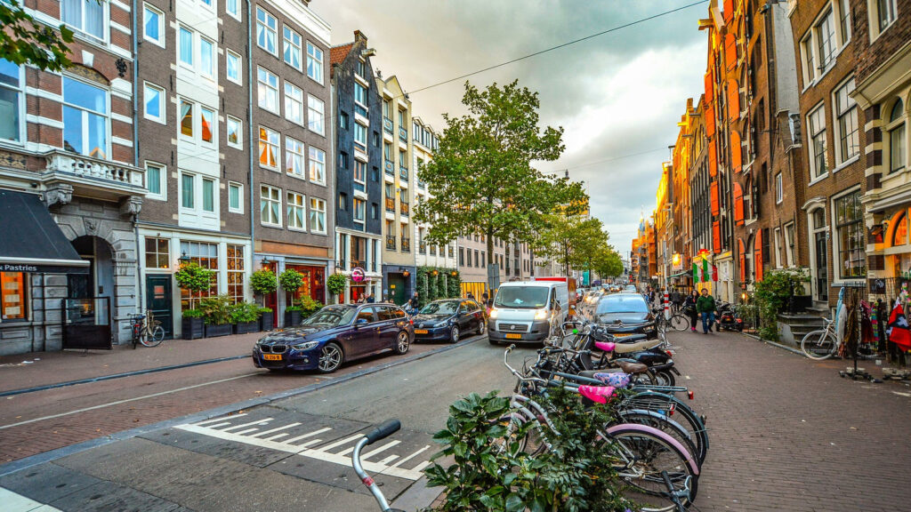 Nederland auto's
