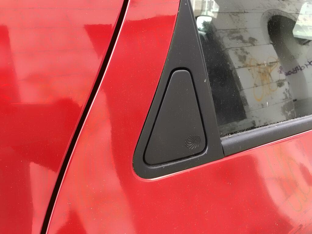 Renault Zoe deurgreep achterportier